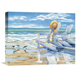 'Seaside II' by Kathleen Denis Painting Print on Wrapped Canvas by Global Gallery