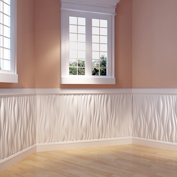 Branches Paintable 31.4 x 24.6 Abstract 3D Embossed Wall Paneling (Set of 6) by threeDwall