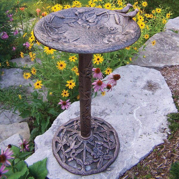 Hummingbird Birdbath by Oakland Living