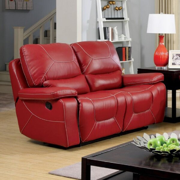 Euston Reclining 66.5-inch Pillow Top Arms Loveseat By Red Barrel Studio