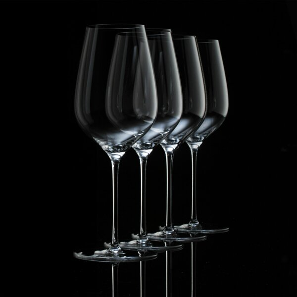 Fusion Air Universal Wine Glass (Set of 4) by Wine Enthusiast