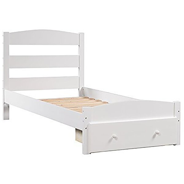 Springfield Twin Platform Bed with Trundle by Harriet Bee