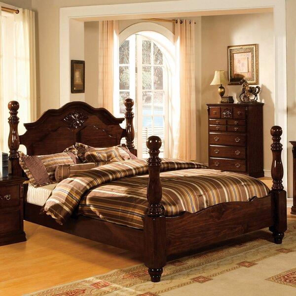 Ricciardi Four Poster Bed by Astoria Grand