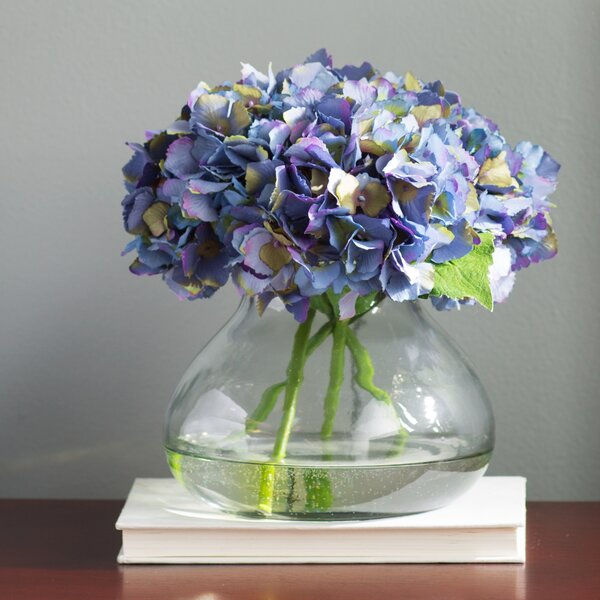 Blooming Hydrangea in Vase by Willa Arlo Interiors