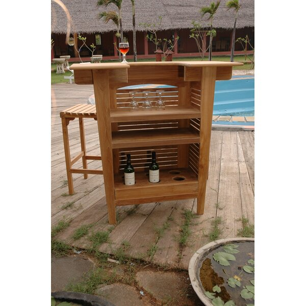 Montego 3 Piece Teak Bar Set by Anderson Teak