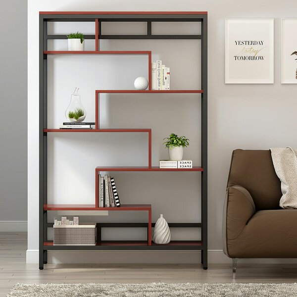 Bressler Geometrric Bookcase by Williston Forge