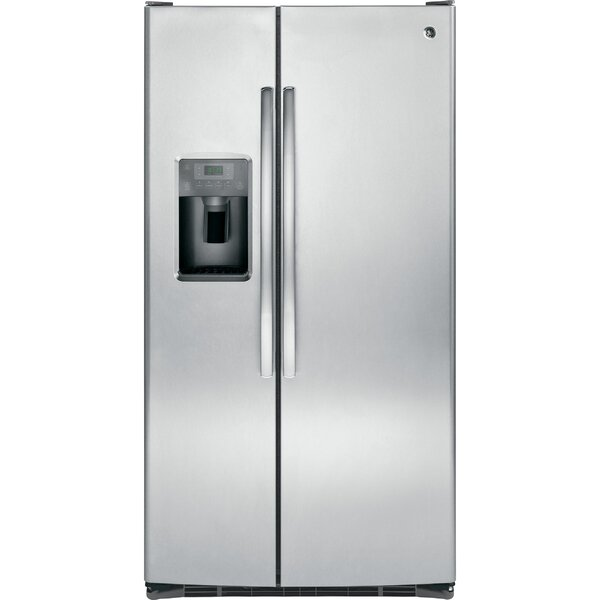 25.3 cu. ft. Side-by-Side Refrigerator by GE Appliances