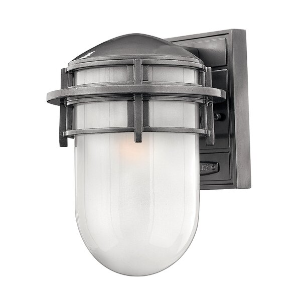 Warriner LED Outdoor Sconce by Breakwater Bay
