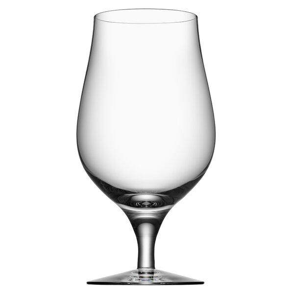 Beer Taster 16 oz. Crystal Pint Glass (Set of 4) by Orrefors