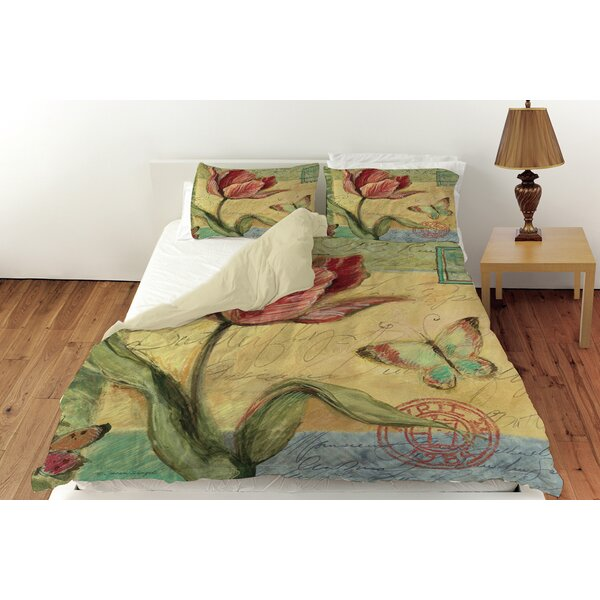 Loretta Tulip Duvet Cover Collection by August Grove