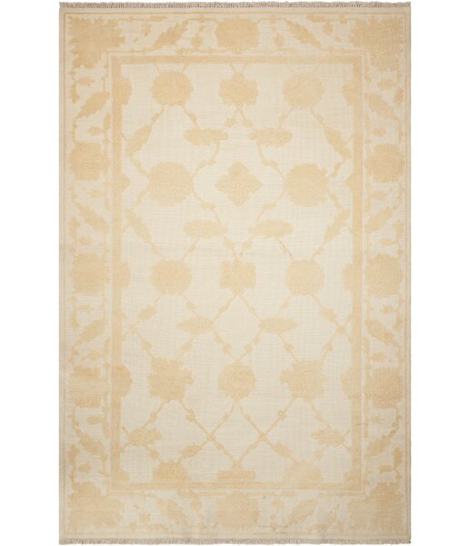 Casey Hand-Woven Ivory Area Rug by Darby Home Co