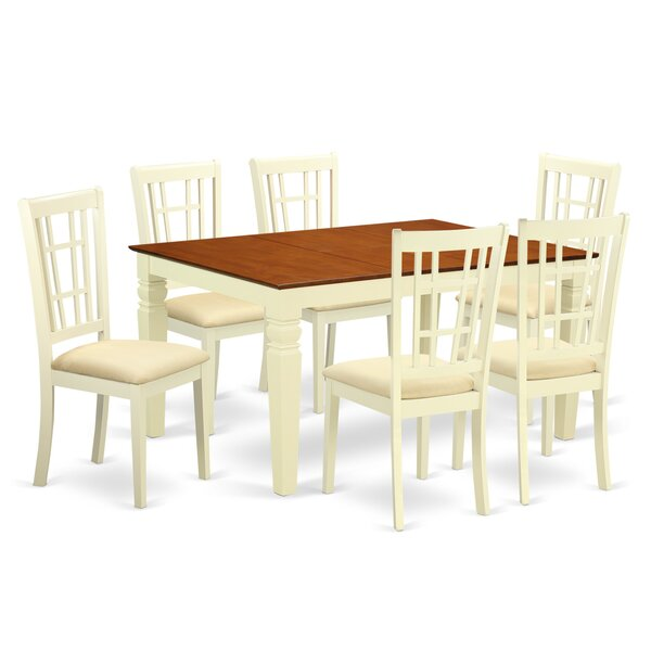 Bellanger 7 Piece Dining Set by Darby Home Co
