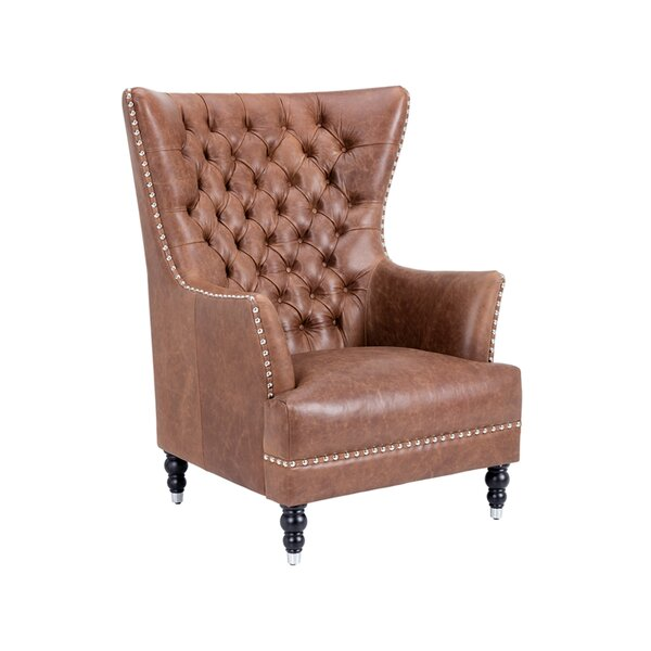 Wixom Wingback Chair By Rosdorf Park
