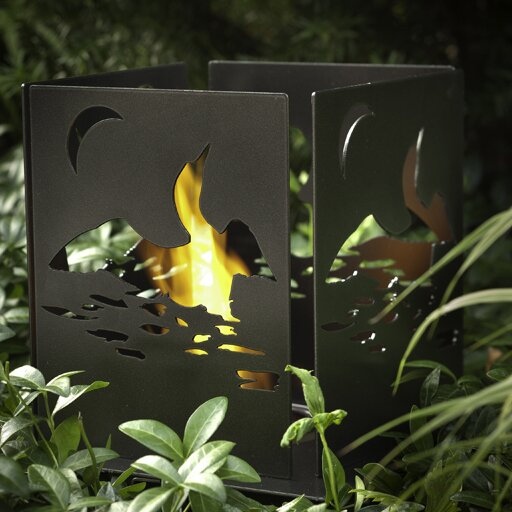 Four Series Cottage Bio-Ethanol Tabletop Fireplace by Decorpro