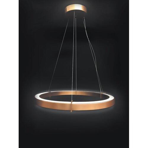Metallux 1-Light LED Geometric Pendant Metal Lux