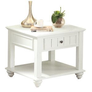Naoma End Table by Highland Dunes