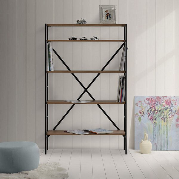 Review Nagle Etagere Bookcase