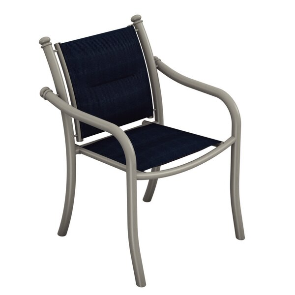 La Scala Stacking Patio Dining Chair by Tropitone