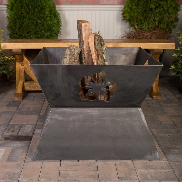Fire Mate Steel Wood Burning Fire Pit by Ember Haus