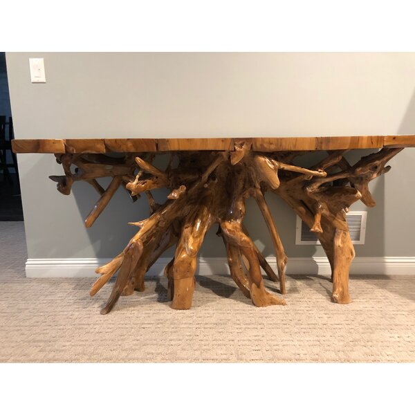 Review Bouvet 72'' Solid Wood Console Table