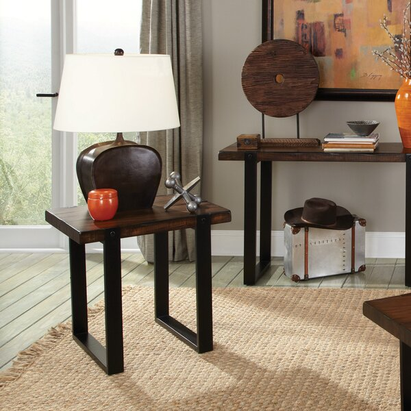 Micaela End Table by Union Rustic