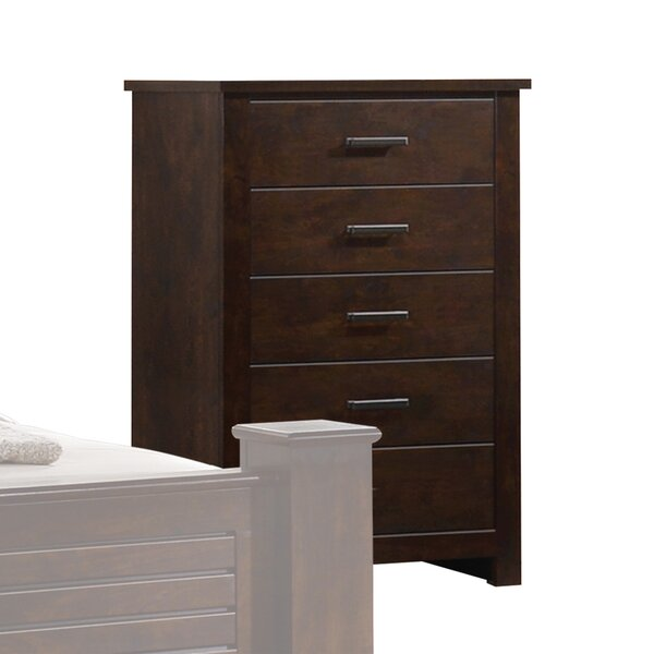 Palmore 5 Drawer Chest by Loon Peak