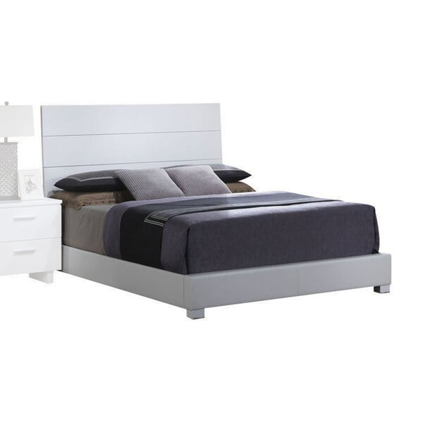 Lesher Upholstered Standard Bed by Latitude Run