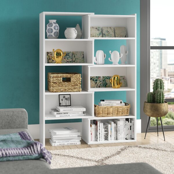 Delossantos Standard Bookcase by Ebern Designs