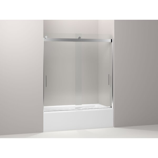 Levity 59.63 x 62 Bypass Bath Door with Blade Handles with CleanCoat® Technology by Kohler