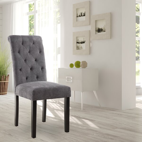 Barbagallo Tufted Upholstered Parsons Chair (Set of 2) by Winston Porter Winston Porter