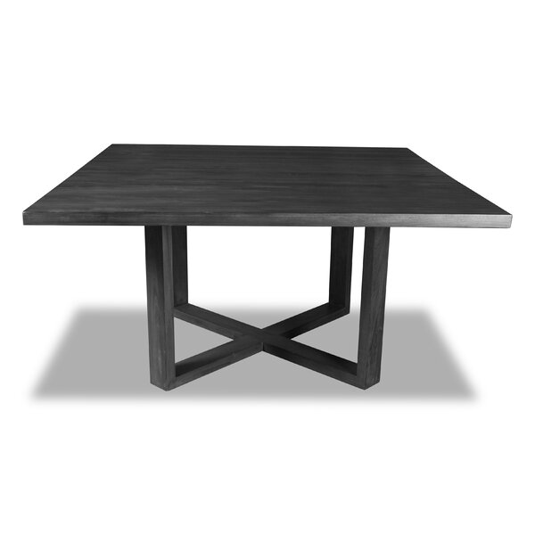 Nusbaum Solid Wood Dining Table by Union Rustic