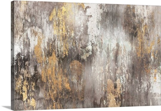 Gold Ikat By Pi Gallerie By Great Big Canvas.