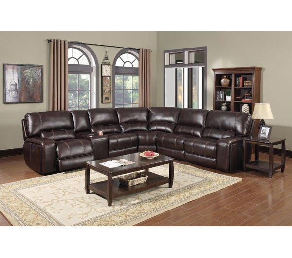 Murcia Reclining Sectional by E-Motion Furniture
