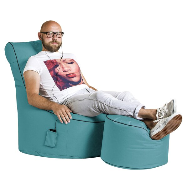 Swing Bean Bag Chair by Ebern Designs