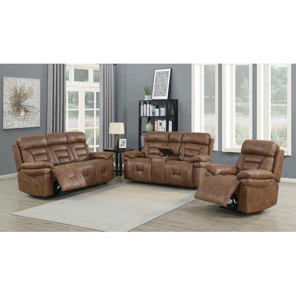 Bertelle Reclining Configurable Living Room Set By Red Barrel Studio