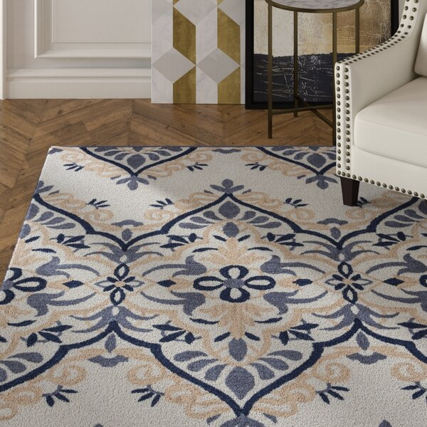 Southwell Hand-Tufted Multi Area Rug by House of Hampton