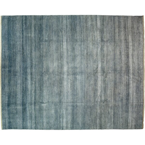 One-of-a-Kind Savannah Hand-Knotted Blue Area Rug by Darya Rugs