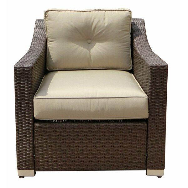 Hasan Patio Chair with Cushion by Brayden Studio