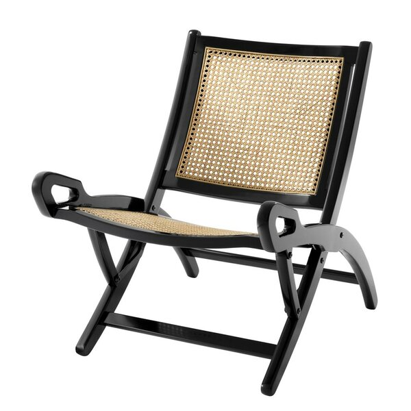 Dimono Cane Folding Side Chair by Eichholtz