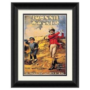 Johnnie Walker Framed Vintage Advertisement by PTM