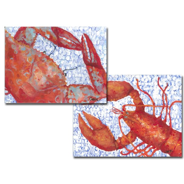 Crab Placemat (Set of 4) by My Island