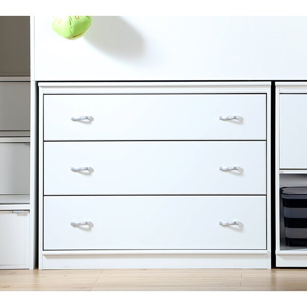 Mobby 3 Drawer Dresser by South Shore
