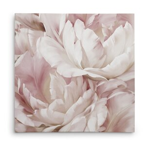 'Intimate Blush IV' Oil Painting Print on Wrapped Canvas by House of Hampton