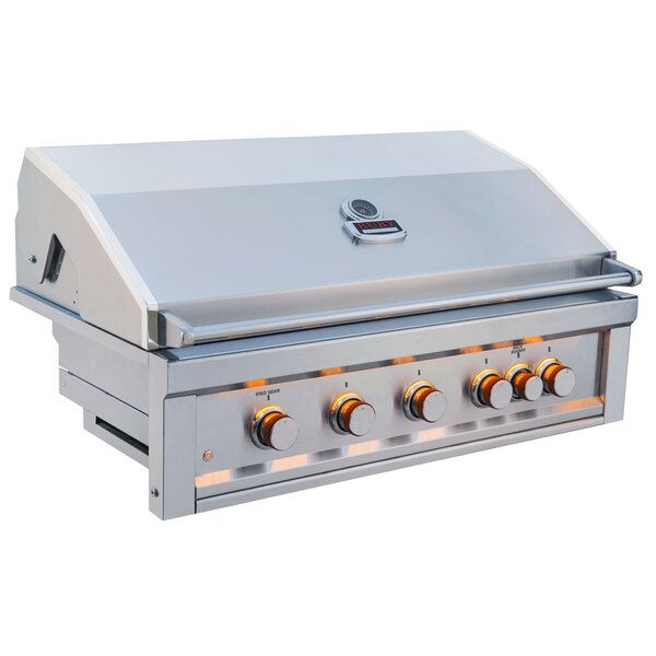 42 Ruby Grill with 5 Burner and IR by Sunstone Grills