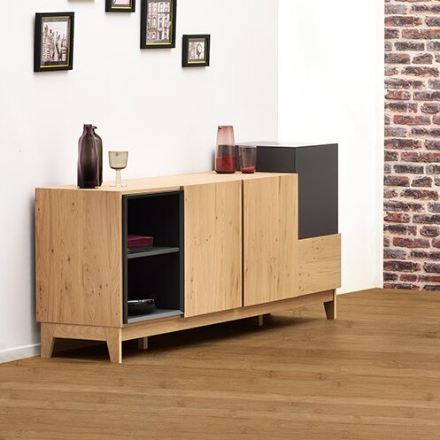 Marcia Sideboard with 2 Doors and 1 Drawer by ArteMob