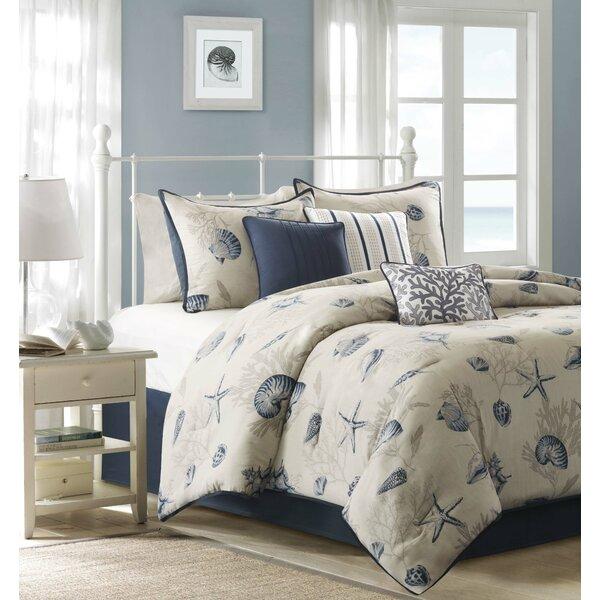 Southhampton 7 Piece Comforter Set by Beachcrest H