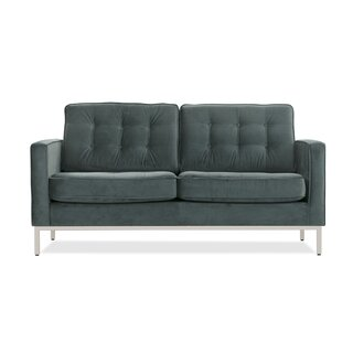 Agostini Mid-Century Loveseat by Corrigan Studio SKU:DE504022 Description
