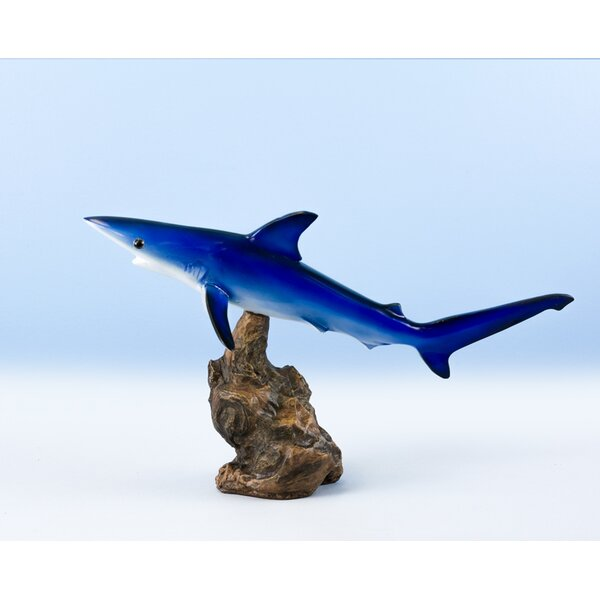 Papadopoulos Shark Figurine by Loon Peak