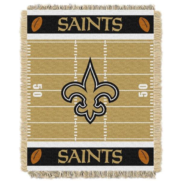 NFL Saints Field Baby Blanket by Northwest Co.