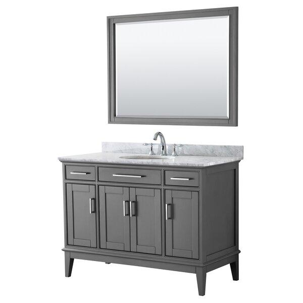 Margate 48 Single Bathroom Vanity Set with Mirror